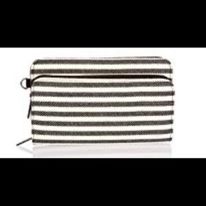 NEWThirty-one Perfect Cents Wallet in Twill Stripe